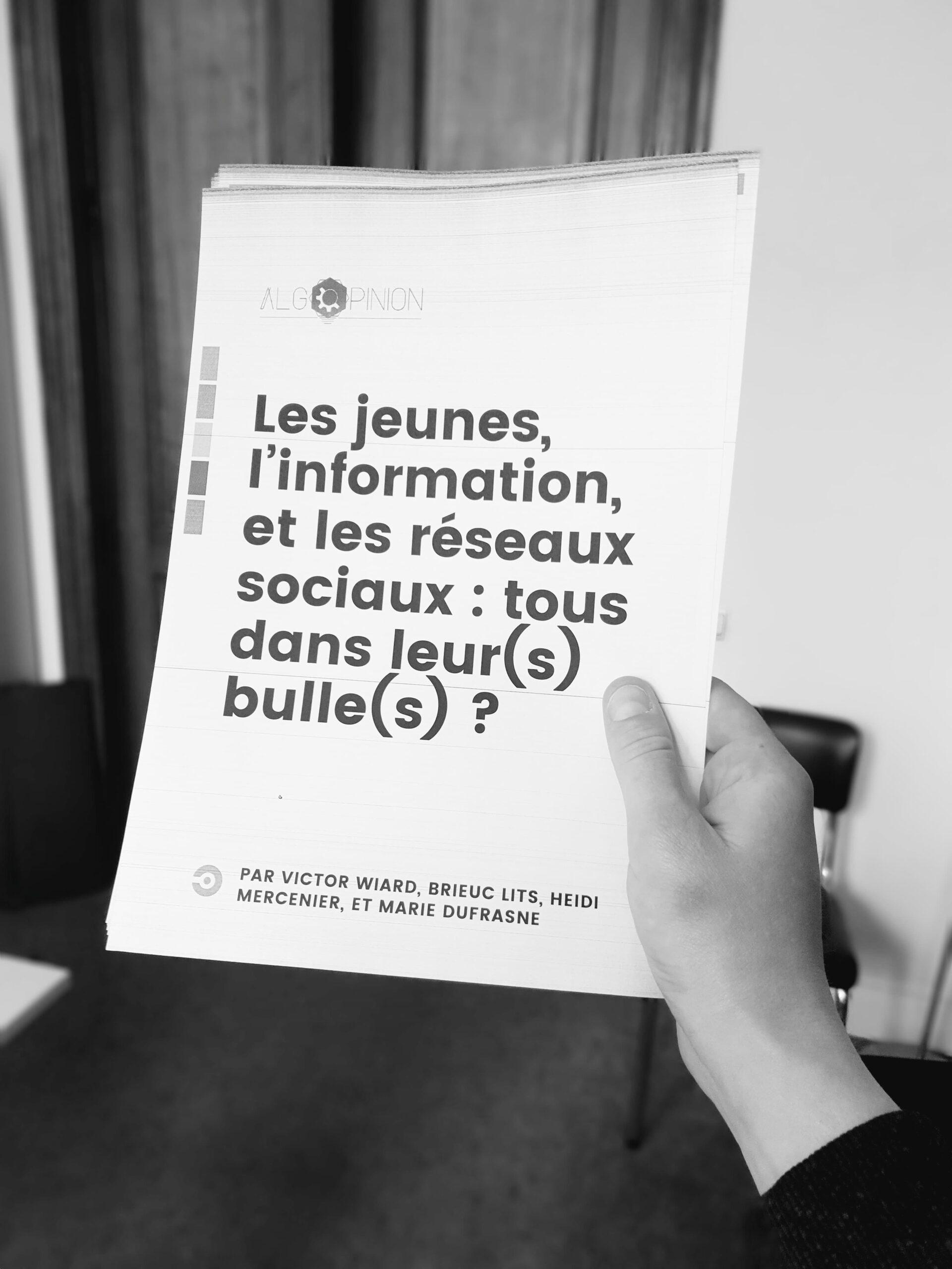 """Les jeunes et les réseaux sociaux : un rapport """"grand public"""""""